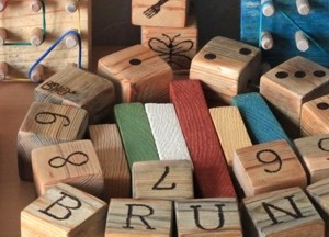 All wooden toys